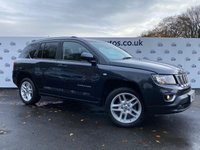 USED 2013 63 JEEP COMPASS 2.1 CRD LIMITED FIVE DOOR 161 BHP LEATHER