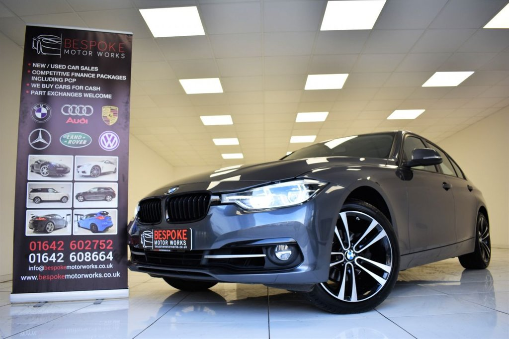 USED 2018 68 BMW 3 SERIES 318I SPORT AUTOMATIC