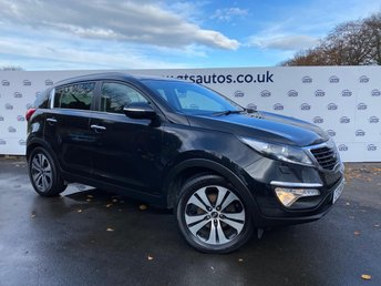 2013 KIA SPORTAGE 2.0 CRDI KX-3 AWD 4WD 134 BHP LEATHER £7890.00