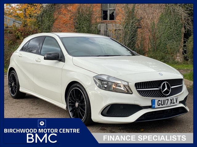 USED 2017 17 MERCEDES-BENZ A-CLASS 1.6 A 200 AMG LINE 5d 154 BHP