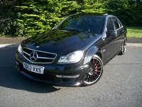 USED 2012 62 MERCEDES-BENZ C-CLASS 6.2 C63 AMG 4d  PPP PERFORMANCE PACK PLUS (PPP)
