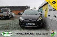 USED 2012 12 FORD FIESTA 1.4 ZETEC TDCI 3d 69 BHP DIESEL BLACK FULL SERVICE HISTORY + EXCELLENT MPG + £20 PER YEAR TO TAX