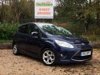 USED 2013 13 FORD C-MAX 1.0 ZETEC 5dr E/boost £30 Tax, Full Service History