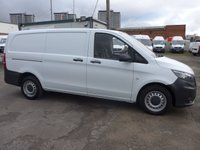 USED 2016 16 MERCEDES-BENZ VITO 1.6 111 CDI LWB 114 BHP, DIRECT FROM MERCEDES-BENZ