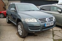 USED 2006 06 VOLKSWAGEN TOUAREG 2.5 TDI SE 5d 172 BHP 2006 VW VOLKSWAGEN TOUAREG 2.5 TDI SE 5 DOOR SUV 4x4 170 BHP 12 MONTH MOT WARRANTY & FINANCE AVAILABLE