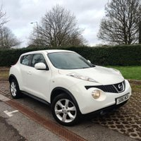 USED 2012 61 NISSAN JUKE 1.6 ACENTA 5d 117 BHP NATIONWIDE DELIVERY AVAILABLE