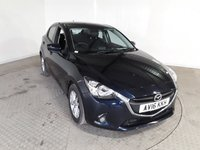 USED 2016 16 MAZDA 2 1.5 SE-L 5DR 74 BHP FULL SERVICE HISTORY + £20 12 MONTHS ROAD TAX + BLUETOOTH + CRUISE CONTROL + MULTI FUNCTION WHEEL + AIR CONDITIONING + RADIO/CD/AUX/USB + ELECTRIC WINDOWS + ELECTRIC MIRRORS + 15 INCH ALLOY WHEELS