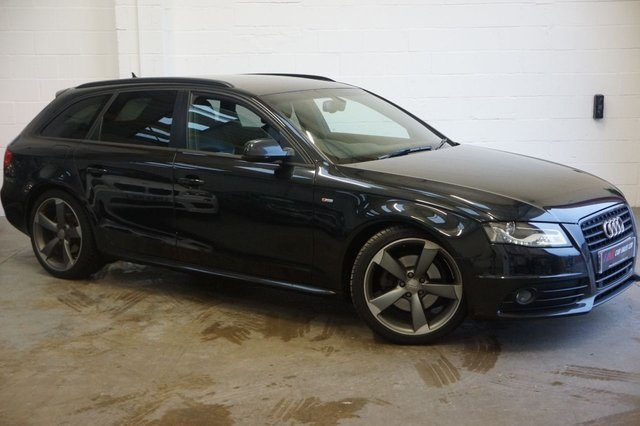 2012 62 AUDI A4 2.0 AVANT TDI BLACK EDITION 5d FULL HISTORY  SOLD TO VICKY FROM SHEFFIELD