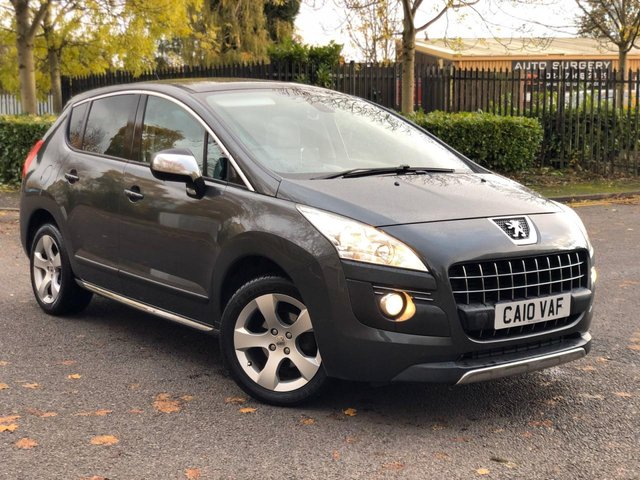 2010 10 PEUGEOT 3008 1.6 EXCLUSIVE HDI 5d 110 BHP