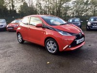2015 TOYOTA AYGO 1.0 VVT-I X-PRESSION 5d ONE OWNER WITH TOYOTA HISTORY  £5750.00