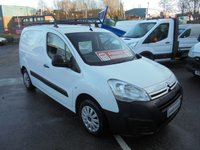 2016 CITROEN BERLINGO ENTERPRISE 1.6 625 L1 BLUEHDI, AIR CONDITIONING, ELECTRIC PACK, FINANCE AVAILABLE  SOLD
