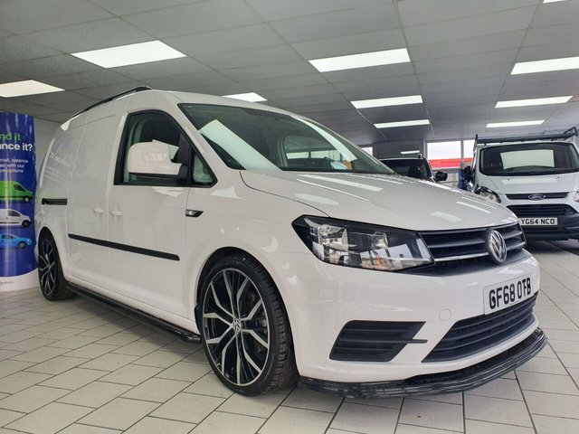 USED 2018 68 VOLKSWAGEN CADDY MAXI 2.0L C20 TDI 5d 102 BHP SPORTLINE STYLED - AIR CON  RAC WARRANTY - NATIONWIDE DELIVERY - CALL 0161 338 8787