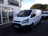 2015 FORD TRANSIT CUSTOM 2.2 270 100BHP  £9495.00