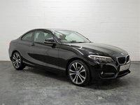2016 BMW 2 SERIES 2.0 218D SPORT 2d 148 BHP £11995.00
