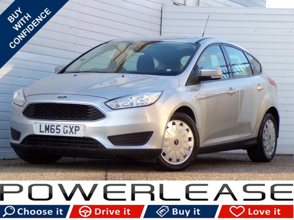 USED 2015 65 FORD FOCUS 1.5 STYLE ECONETIC TDCI 5d 104 BHP 1 OWNER FSH BLUETOOTH AUDIO