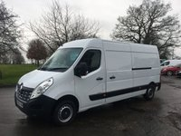 2016 RENAULT MASTER 2.3 LM35 BUSINESS DCI S/R P/V 125 BHP £9995.00