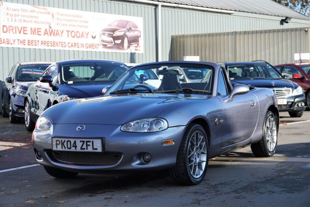 USED 2004 04 MAZDA MX-5 1.8 EUPHONIC 2d 144 BHP VERY CLEAN EXAMPLE WITH LOW MILES
