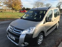 2011 CITROEN BERLINGO 1.6 MULTISPACE XTR HDi RECENT CAMBELT FSH HARD TO FIND LIKE THIS  £5295.00
