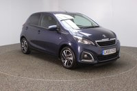 USED 2015 65 PEUGEOT 108 1.2 PURETECH ALLURE 5DR 82 BHP FULL SERVICE HISTORY + FREE 12 MONTHS ROAD TAX + REVERSE CAMERA + BLUETOOTH + CRUISE CONTROL + AIR CONDITIONING + MULTI FUNCTION WHEEL + DAB RADIO + XENON HEADLIGHTS + RADIO/AUX/USB + PRIVACY GLASS + ELECTRIC WINDOWS + ELECTRIC MIRRORS + 15 INCH ALLOY WHEELS