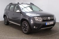 USED 2016 16 DACIA DUSTER 1.5 PRESTIGE DCI 5DR SAT NAV 109 BHP SERVICE HISTORY + £30 12 MONTHS ROAD TAX + SATELLITE NAVIGATION + REVERSE CAMERA + PARKING SENSOR + BLUETOOTH + CRUISE CONTROL + AIR CONDITIONING + MULTI FUNCTION WHEEL + DAB RADIO + ELECTRIC WINDOWS + RADIO/AUX/USB + ELECTRIC MIRRORS + 16 INCH ALLOY WHEELS