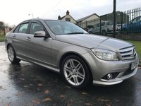 2009 MERCEDES C-CLASS 2.1 C220 CDI SPORT MUST BE VIEWED RARE TO FIND LIKE THIS  £5495.00