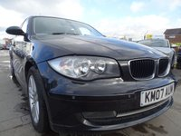 USED 2007 07 BMW 1 SERIES 2.0 120D SE 5d 175 BHP DRIVES PERFECT