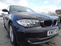 2007 BMW 1 SERIES 2.0 120D SE 5d 175 BHP DRIVES PERFECT £2500.00