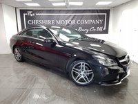 2014 MERCEDES-BENZ E-CLASS 2.1 E220 CDI AMG SPORT 2d 170 BHP + LEATHER + SAT NAV £12500.00