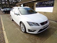 USED 2015 15 SEAT LEON 2.0 TDI FR 5d 184 BHP * ONLY £30 A YEAR ROAD TAX *