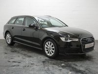 USED 2015 15 AUDI A6 2.0 AVANT TDI ULTRA SE 5d 188 BHP 1 OWNER + 4 AUDI SERVICES + FULL LEATHER + SAT NAV