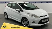 USED 2012 12 FORD FIESTA 1.6 ZETEC S TDCI 3d 95 BHP (FULL LEATHER INTERIOR)