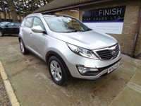 USED 2012 62 KIA SPORTAGE 1.7 CRDI 2 5d 114 BHP * £0 DEPOSIT FINANCE AVAILABLE * FULL KIA SERVICE HISTORY * SUNROOF * AVAILABLE FROM £139.07 P/M *