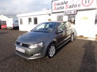 USED 2013 63 VOLKSWAGEN POLO 1.4 MATCH EDITION 5d 83 BHP £29 PER WEEK, NO DEPOSIT - SEE FINANCE LINK