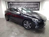 USED 2015 64 VOLVO V40 1.6 D2 R-DESIGN LUX 5d + SERVICE HISTORY + LEATHER + 2KEYS