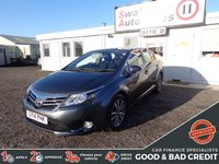 USED 2014 14 TOYOTA AVENSIS 2.0 D-4D ICON BUSINESS EDITION 4d 124 BHP GOOD AND BAD CREDIT SPECIALISTS! APPLY TODAY!