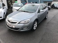 USED 2011 11 VAUXHALL ASTRA 2.0 SRI CDTI 5d 157 BHP FULL SERVICE HISTORY 7 STAMPS-1 FORMER KEEPER-PARKING SENSORS FRONT AND REAR-DIESEL ESTATE