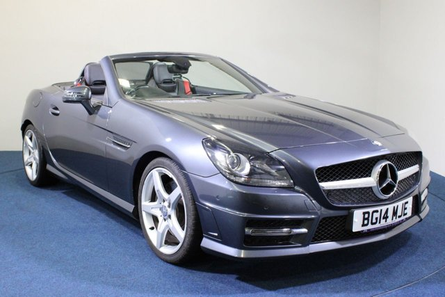 USED 2014 14 MERCEDES-BENZ SLK 2.1 SLK250 CDI BLUEEFFICIENCY AMG SPORT 2d 204 BHP