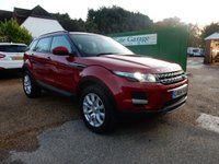USED 2015 64 LAND ROVER RANGE ROVER EVOQUE 2.2 SD4 PURE 5d 190 BHP TOW BAR,LEATHER,HEATED SEATS,BLUETOOTH,CRUISE,PARKING AID