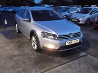 USED 2013 62 VOLKSWAGEN PASSAT 2.0 ALLTRACK TDI BLUEMOTION TECH 4MOTION 5d 139 BHP Superbly Maintained Passat With Full VW Service History, Only 1 Prev Registered Keeper And Cambelt and Water Pump Recently Changed!