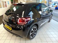 """USED 2016 66 DS DS 3 1.6 BLUEHDI ELEGANCE S/S 3d 98 BHP ONE OWNER + FULL SERVICE HISTORY + BLUETOOTH + CRUISE CONTROL + 17"""" ALLOYS + AIR CONDITIONING + DAB RADIO + REMOTE CENTRAL LOCKING + ELECTRIC WINDOWS + LED DAYTIME RUNNING +HEIGHT ADJUSTABLE STEERING WHEEL + REVERSING SENORS +PRIVACY GLASS + ZERO ROAD TAX"""