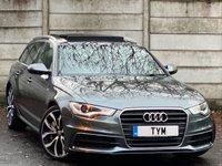2014 AUDI A6 3.0 AVANT TDI QUATTRO S LINE 5d 313 BHP £21995.00