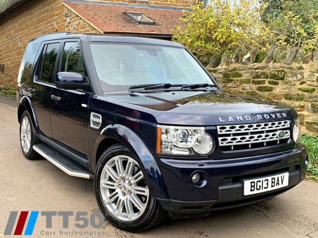 2013 13 LAND ROVER DISCOVERY 3.0 4 SDV6 HSE 5d 255 BHP