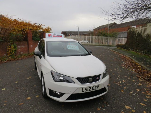 USED 2012 12 SEAT IBIZA 1.4 TSI FR DSG 5d 148 BHP A GREAT SPORTY AUTOMATIC