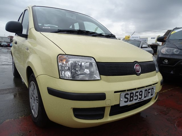 USED 2009 59 FIAT PANDA 1.1 ACTIVE ECO 5d VERY LOW MILES LOW TAX
