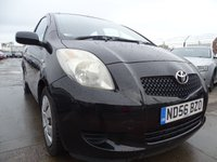 USED 2006 56 TOYOTA YARIS 1.3 T3 VVT-I MM 3d 86 BHP GREAT AUTOMATIC MUST SEE