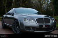 2008 BENTLEY CONTINENTAL 6.0 W12 GT Speed 2dr £27990.00