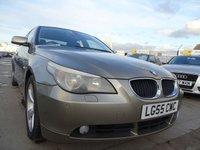 2005 BMW 5 SERIES 2.5 525I SE 4d 215 BHP GREAT SPEC LOOKS GREAT £2500.00