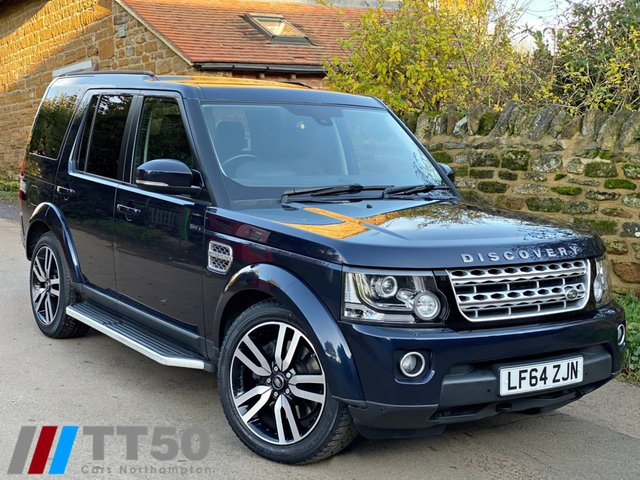 2014 64 LAND ROVER DISCOVERY 3.0 SDV6 HSE 5d 255 BHP