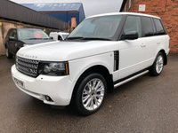 USED 2012 12 LAND ROVER RANGE ROVER 4.4 TDV8 WESTMINSTER 5d 313 BHP