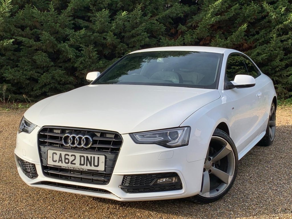 USED 2013 62 AUDI A5 2.0L TDI BLACK EDITION 2d 177 BHP